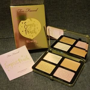 Too faced Sugar Peach Face & Eye palette